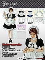 ドールズフィギュア CC125 1/6 Black Maidservant Clothing 【dollsfigure】