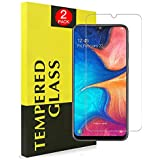 [2 Pack] for Samsung Galaxy A20/A30/A50 Tempered Glass LCD Anti Scratch Screen Protector Film Guard (2 Pack)