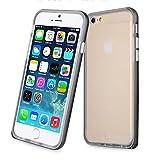 【ShineZone】オリジナル Apple iphone 6 Plus 5.5インチ 専用ケース 保護力 個性 高品質 バンパー +TPU カバー (ブラック)