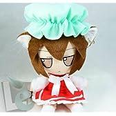 コスプレ小道具/小物♪東方Project  八雲橙(チェン)cos道具 ぬいぐるみ 人形 21cm コスチューム
