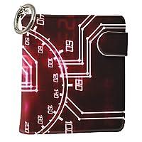 スマコレ IQOS専用 レザーケース 従来型/新型 2.4PLUS 専用 ケース カバー 合皮 カバー 収納 クール メーター 赤 レッド 007744
