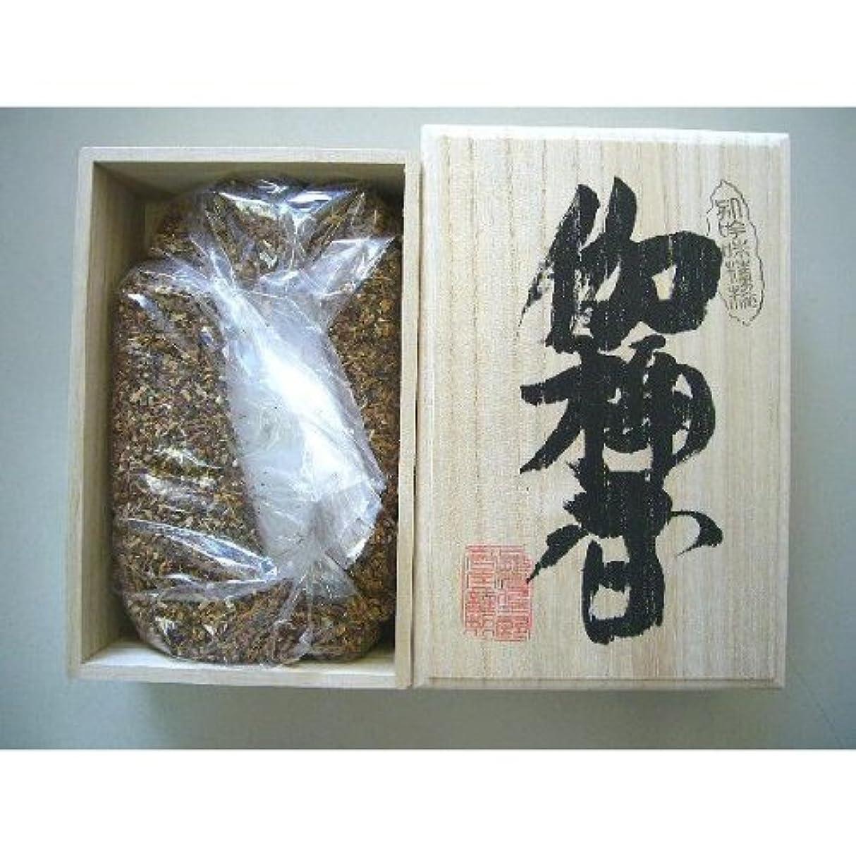 寛大なポンド応援する焼香 伽楠香250g桐箱入り 抹香
