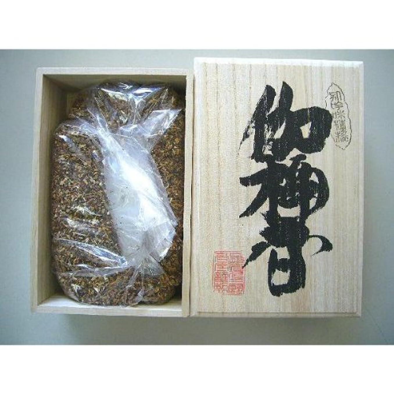 肥料スリチンモイお父さん焼香 伽楠香250g桐箱入り 抹香
