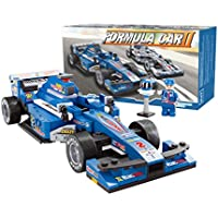 Bao Core 1 : 24 Super Racing Carスケールレンガ式車スタイリングモデルIntellective建物ブロックDIY教育玩具プレイセットギフトfor Age 6 Years And Up ( 257ピース、ブルー