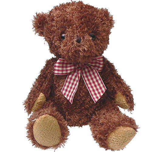 ぬいぐるみ くま リボン ふわふわ 25cm ブラウン ASH LOVERS アッシュラバーズ 動物 熊 子供 キッズ こども 女の子 誕生日 ギフト
