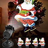 Arbily 高輝度LED クリスマス 投影ランプ プロジェクター ライト ハロウィン/パーディー/誕生日/イベント 飾り リモコン 屋内 屋外 防水 イルミネーション(動画) 画像