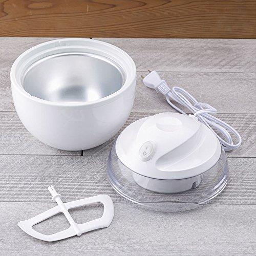貝印 アイスクリームメーカー ホワイト DL-5929 貝印