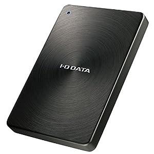 I-O DATA HDD ポータブルハードディスク 2TB USB3.1Gen1/Type-C対応 全面アルミボディ 日本製 HDPX-UTC2K