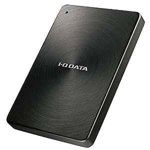 I-O DATA HDD ポータブルハードディスク 1TB USB3.1Gen1/Type-C対応 全面アルミボディ 日本製 HDPX-UTC1K
