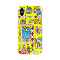 igcase iPhone XS 専用ハードケース スマホカバー カバー ケース pc ハードケース ユニーク 童話 すごろく 006677