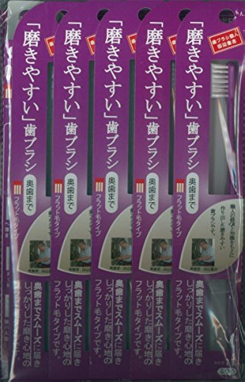 ギャップ達成するアナニバー磨きやすい歯ブラシ(ハの字フラット) 1P*12本入り