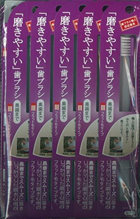 ボーナス幻滅する落胆させる磨きやすい歯ブラシ(ハの字フラット) 1P*12本入り