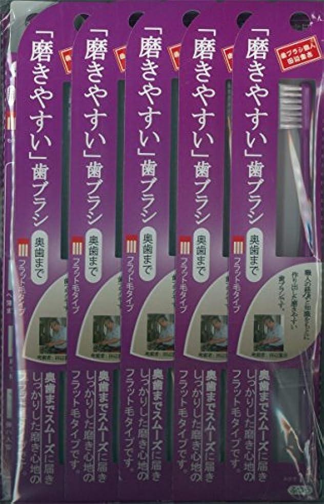 ウィスキーマキシム中絶磨きやすい歯ブラシ(ハの字フラット) 1P*12本入り