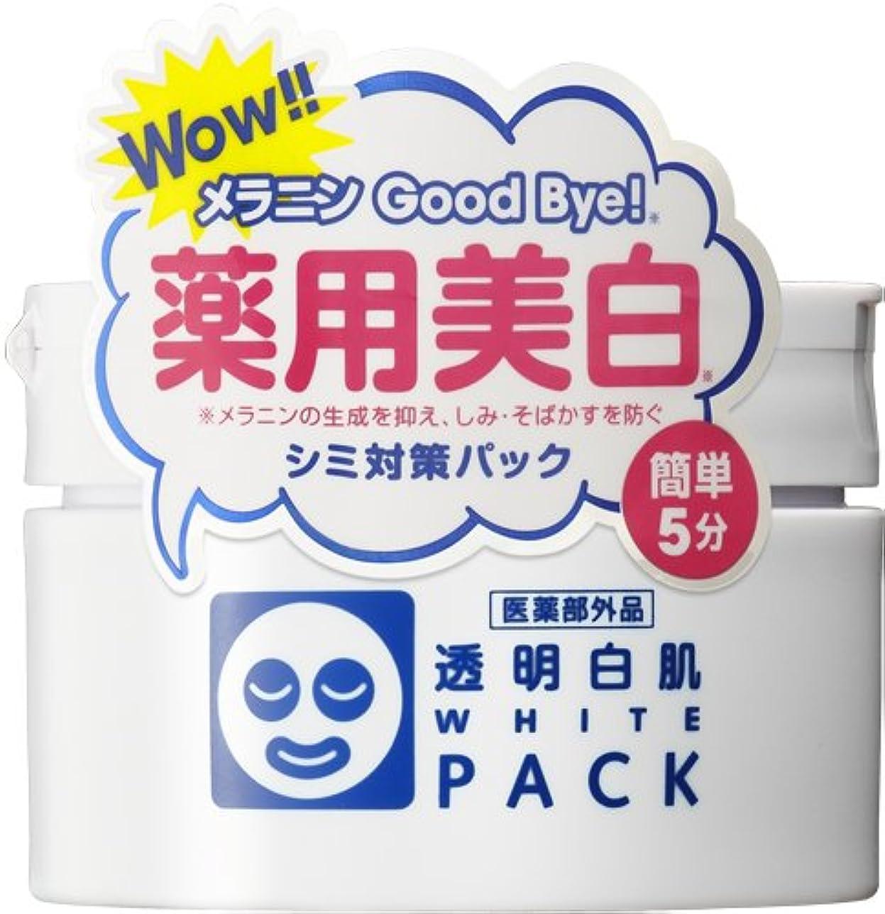 重要魅了するボトル透明白肌 薬用ホワイトパックN<医薬部外品>