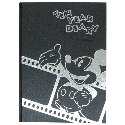 ディアカーズ 10年日記 ミッキーと仲間たち(ディズニー) 名入れなし【連用日記】 1207-G03-010