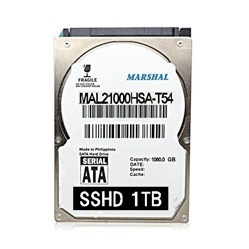 MARSHAL SSHD ハイブリッド HDD 2.5インチ 1TB 5400rpm 9.5mm SATA HYBRID SSD搭載 MAL21000HSA-T54