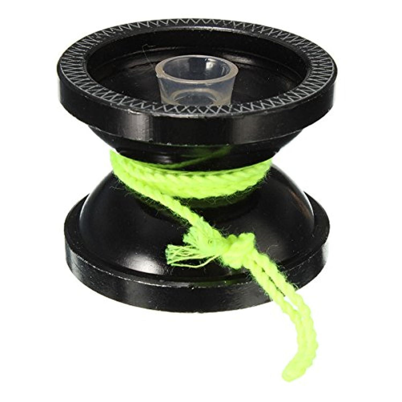 [ブラック] アルミニウム ヨーヨー ボール ベアリング ストリング トリック 子供用ハイ スピード 並行輸入品