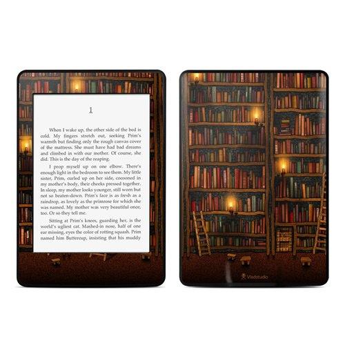 DecalGirl スキンシール Kindle Paperwhite専用スキン - Library