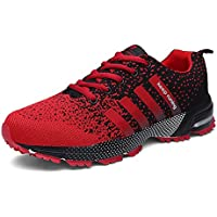 KUBUA Mens Running Shoes Trail Fashion Sneakers Tennis Sports Casual Walking Athletic Fitness Indoor and Outdoor Shoes for Men