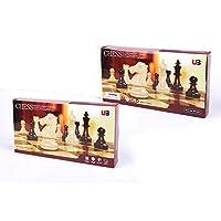 elegantstunning 1つの旅行の磁気チェス&チェッカーの2