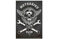 冷蔵庫用マグネット Fridge Magnet Retro Biker Motorcycle Club