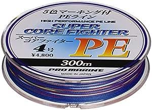 プロマリン(PRO MARINE) スーパーコアファイターPE 300M 4号 ALA300-4