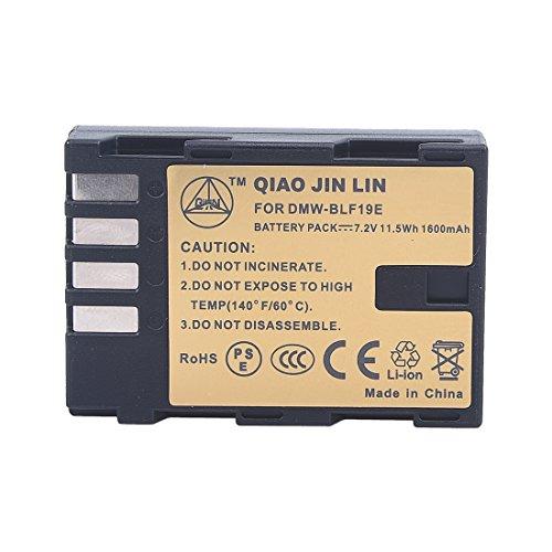 QIAOJINLIN 完全互換バッテリー 予備電池 対応 Panasonic...