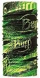 Buff (バフ) 豊富な色・柄 スペイン製 オールシーズンOK 使い方10通り以上 マルチな万能ヘッドウェア 軽量コンパクト 抗菌対応 汗をかいても匂わない 縫い目なし 吸汗速乾 フリーサイズ (HIGH UV FLASHLOGO) [並行輸入品]