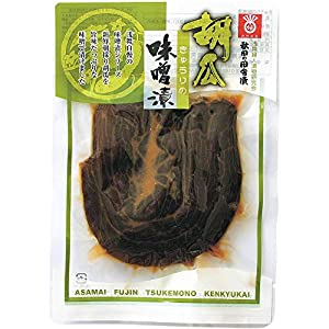 浅舞婦人漬物研究会 秋田の田舎漬 味噌漬(きゅうり) 130g