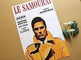 小ポスター、フランス版「サムライ」アラン・ドロン