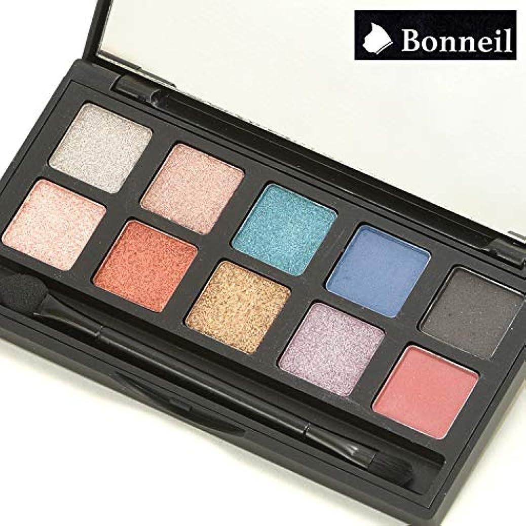 【Bonneil(ボヌール)】アイシャドウ 10色 (ブラウンベース)