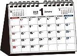 2018年 シンプル卓上カレンダー A5ヨコ ([カレンダー])