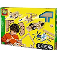 SES Deutschland 14946 Wooden Construction Set [並行輸入品]