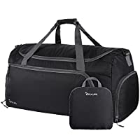 OXA Lightweight Foldable Travel Duffel Bag with Shoes Bag
