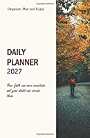 Calendar 2027; Don't Call It A Dream Call It A Plan.: Pocket Diary 2027 stay organized with the 4-WEEK-OVERVIEW, to-do checklist and extra boxes for importances to keep your pages clean and organized; Timeless Design