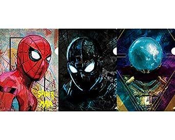Marvel(マーベル) Spider-Man Far From Home(スパイダーマン:ファー・フロム・ホーム) ミニクリアファイルセット 3枚セット [インロック]