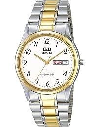 [シチズン キューアンドキュー]CITIZEN Q&Q 腕時計 Day&Date(デイ&デイト) スタンダード アナログ表示 クリーム BB16A404 レディース