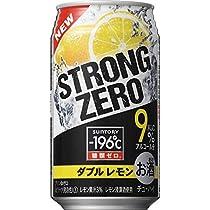サントリー -196℃ ストロングゼロ ダブルレモン 350ml 3ケース(72本)