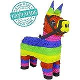 元クラシックDonkey Pinata (レインボーカラー) – Mexican Piñata – ハンドメイドのメキシコ