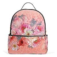 6436726f3735 バララ(La Rose) リュック サック 高校生 中学生 女子 通学 かわいい 花びら 花柄 和風