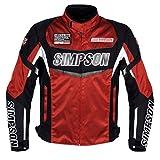 シンプソン(SIMPSON) ジャケット ナイロンジャケット レッド 4L SJ-6132