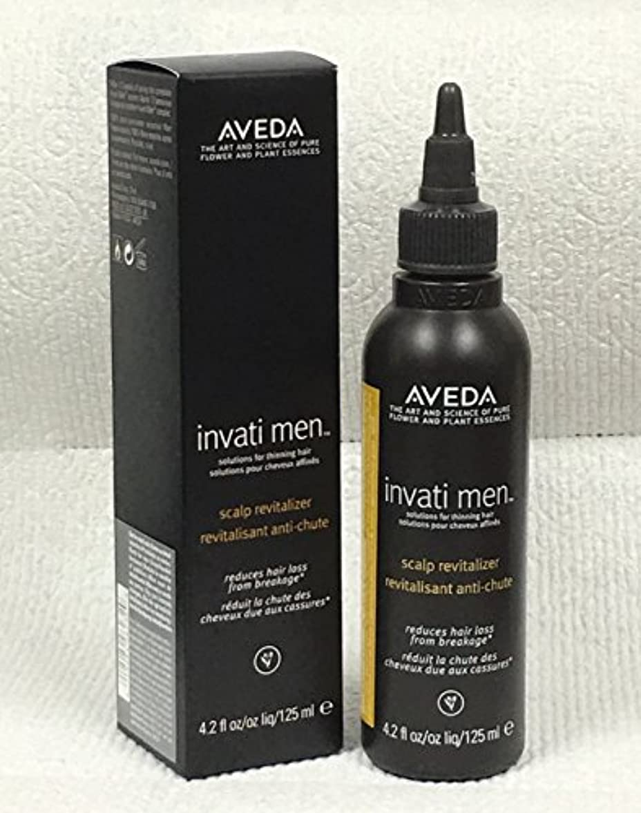 制限されたつば言及するアヴェダ Invati Men Scalp Revitalizer (For Thinning Hair) 125ml/4.2oz並行輸入品