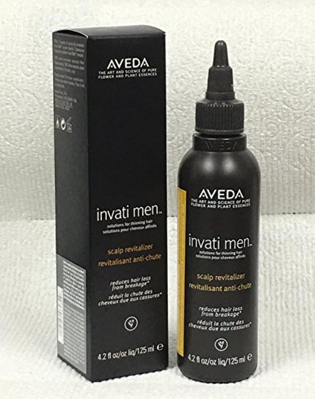 巨大動力学アカデミックアヴェダ Invati Men Scalp Revitalizer (For Thinning Hair) 125ml/4.2oz並行輸入品