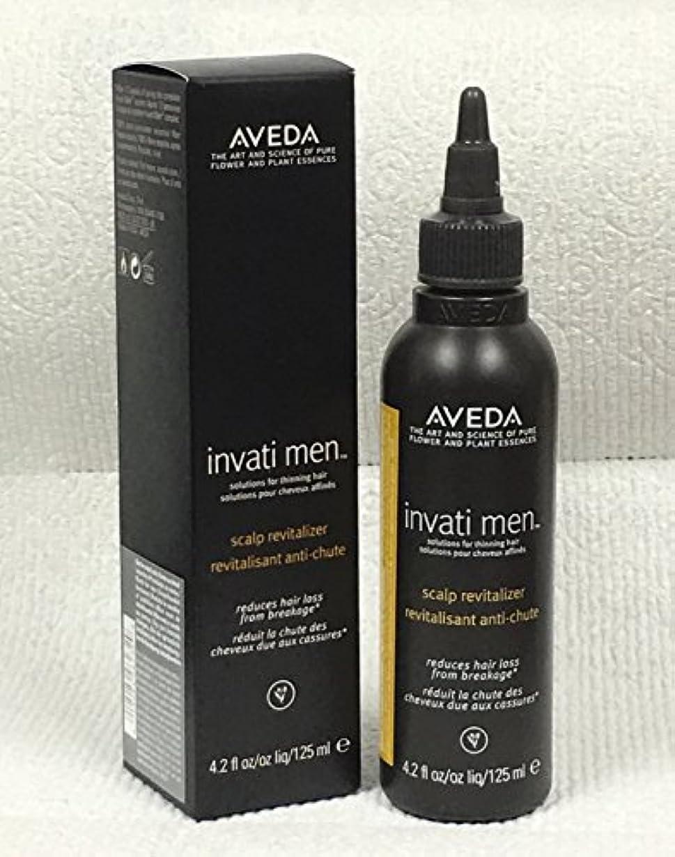 麻痺勃起悲しみアヴェダ Invati Men Scalp Revitalizer (For Thinning Hair) 125ml/4.2oz並行輸入品