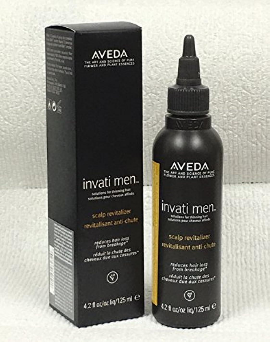 モールス信号圧縮所有者アヴェダ Invati Men Scalp Revitalizer (For Thinning Hair) 125ml/4.2oz並行輸入品