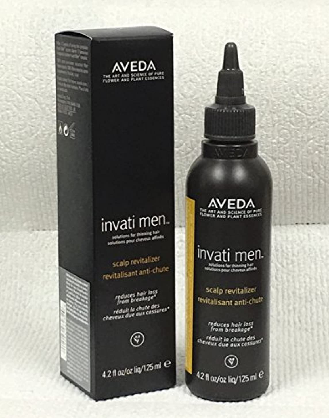 良心的鯨鮮やかなアヴェダ Invati Men Scalp Revitalizer (For Thinning Hair) 125ml/4.2oz並行輸入品