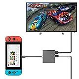 持ち運びに便利なNintendo Switch用ドック Nintendo SwitchをTVに出力できる小型アダプタ
