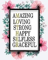 母はアメージング愛する強い母の日インスピレーション愛のポスター壁であります