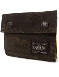 ポーター(porter)・グリーンアイ・横型ウォレット(2つ折り)