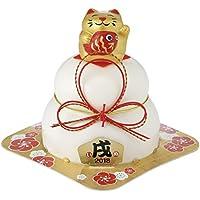 マルシン食品 切餅入お供え餅・招き猫金 60g×3個